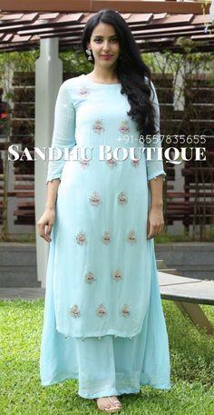 Dress Neck Designs, Kurti Neck Designs, Kurta Designs Women, Kurti Designs Party Wear, Designs For Dresses, Pakistani Dress Design, Pakistani Dresses, Indian Dresses, Indian Designer Outfits