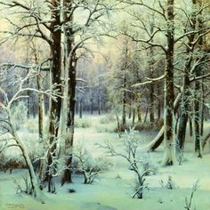 Winter Painting by Russian Artists