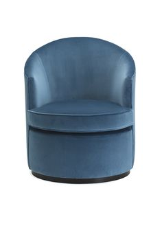 A lovely round occasional chair, sleek, elegant and very feminine in it's appeal. The Marino chair has a curved back and dropped arms. Occasional Chairs, Tub Chair, Seat Cushions, Accent Chairs, Sailor, Bench Seat Cushions, Upholstered Chairs, Chair Pads