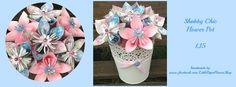 Shabby Chic Flower Pot - The Supermums Craft Fair