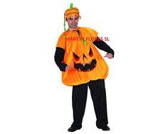 Disfraz de hombre calabaza. Más en www.martinfloressl.es
