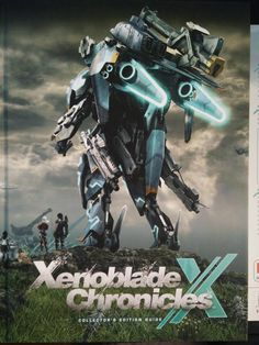 Xenoblade Chronicles X guide front
