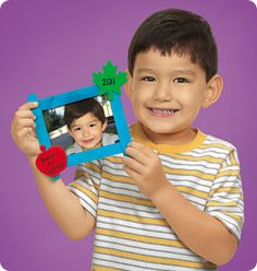back to school photo keepsake frame. such an easy kid craft!