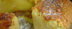 Bolo de coco e queijo