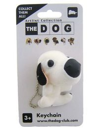 Artlist Collection THE DOG — keyring. Dalmation Plush Keyring  £4.99