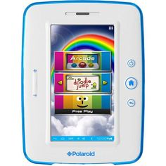 Walmart: Polaroid Kids Tablet with Memory Interactive Books For Kids, Polaroid, Kids Tablet, Learning Apps, Parental Control, Teachers' Day, Tablets, Web Browser, Kids Videos