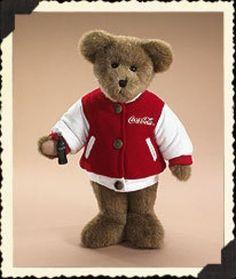 "Boyds Bears ""Collin"" 12"" Coca Cola®  Plush Bear-919915 - NWT- 2006"