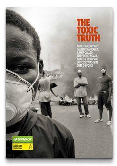 The Toxic Truth Ruim 230 pagina's tellend rapport... | Portfolio - The Ad Agency