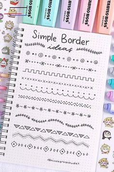 Best Bullet Journal Divider Ideas For 2019 Check out the. - nigde - Best Bullet Journal Divider Ideas For 2019 Check out the. Best Bullet Journal Divider Ideas For 2019 Check out the collection of super cute and easy bullet journal divider ideas! Bullet Journal School, Bullet Journal Dividers, Bullet Journal Paper, Bullet Journal Headers, Bullet Journal Notebook, Bullet Journal Inspo, Bullet Journal Ideas Pages, Borders Bullet Journal, Bullet Journal Title Page