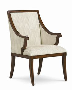 Armed for Comfort - tra-uphcha-001   Collection: New Traditional   dimensions: 24.5W x 25D x 40H seat height: 19arm height: 26.25