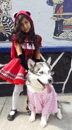 """ My friend's daughter badass costume """