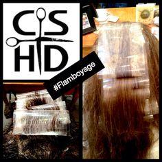 A new way of hair colour for the modern woman. #Flamboyage http://www.christinasanchezhairdesign.com @Davines  #hairbrained #Davines