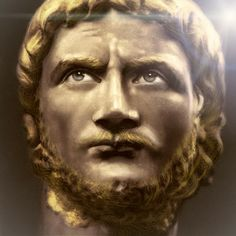 Gallienus, third century Roman emperor who saw the East lost, and Britain, Gaul and Spain form a breakaway state.