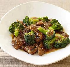 Oriental Beef Stir Fry - Low Carb High Protein