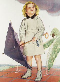 Shirley Temple Illustration, 1935
