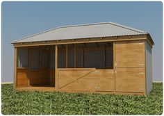 horse shed superstore the ultimate super horse shed and shelter product 1 Make two stalls that one boarder can rent out for their two horses. Offer one large pasture or two smaller ones