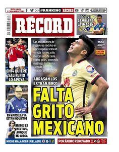 México - RÉCORD 5 de agosto del 2015