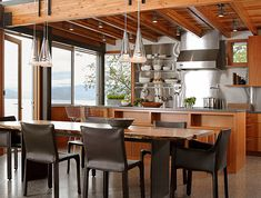 Kitchen - Inspiration From Kitchens With Stainless Steel Backsplashes