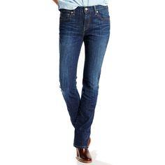 Women's Levi's® 505™ Straight Jeans, Size: 33(Us 16)M, Blue