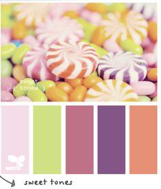 Sweet Tones #designseeds
