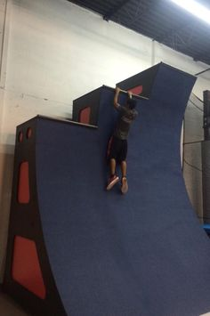 Ninja Warrior Course Equipment - Warped Wall