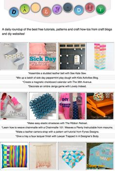 diy craft crafts tutorials websites projects blogs daily cans sewing try sell