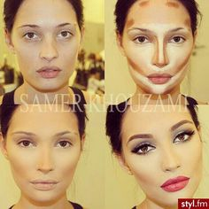 Contouring (I dont ever do this nor do I know how) ... I could try it for a super special occacion I guess.