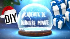 DIY Cadeau de Noël de Dernière Minute / Last Minute Christmas Gift Diy Cadeau Noel, Diy Christmas Gifts, Diy Cards, Videos, Make Your Own, Snow Globes, Birthdays, Diy Projects, Crafts