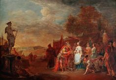The Athenaeum - Alexander and the Queen of the Amazons, Thalestris (Johann Georg…