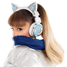 (I REALLY WANT THIS) Limited Edition Ariana Grande Cat Headphones - $149.99