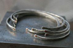 """Inner Strength"" hand made metal smith jewelry Chris Magisano artist"