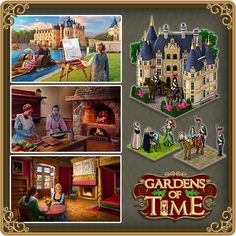 Gardens of Time / Inside the Chateau Ch 215