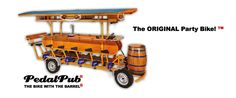 PedalPub ® | the ORIGINAL Party Bike ™ Got to have this!