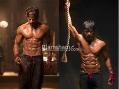 SHAH RUKH KHAN STUNS IN 8 PACK ABS FOR HAPPY NEW YEAR