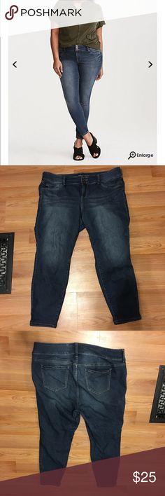 Torrid Jeggings - Short Length Torrid Jeggings. Size 20 length is short. Worn maybe twice. Will consider reasonable offers! torrid Jeans Skinny