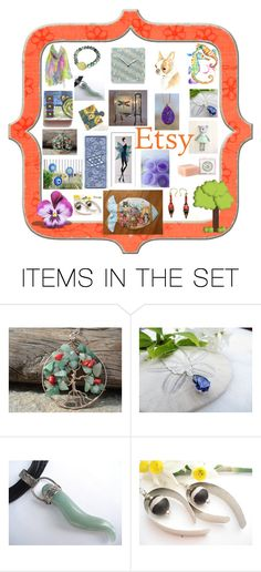 """""""Etsy One Stop Shopping"""" by glowblocks ❤ liked on Polyvore featuring art"""