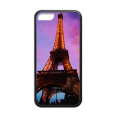 Eiffel Tower In Purple Case for iPhone 5c