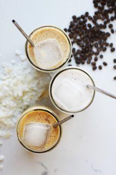 Horchata iced latte