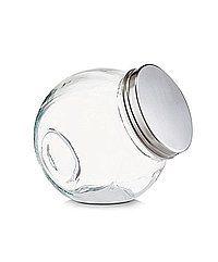 Bonbonglas Vorratsglas Vorratsgläser Einmachglas liegend Bügelverschluss 3Größen