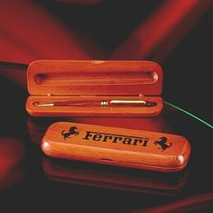 Personalized rosewood Pen and box