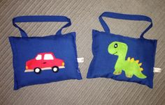homemade childrens hanging cushion by EffiesRags on Etsy