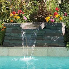 192 best water features images in 2019 pools swimming - Swimming pool water fountain kits ...