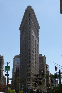 The flat iron building!
