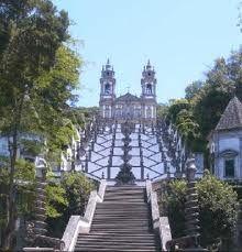 Escadaria do Santuário do Bom Jesus