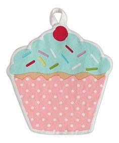 Look at this #zulilyfind! Cupcake Pot Holder by Design Imports #zulilyfinds