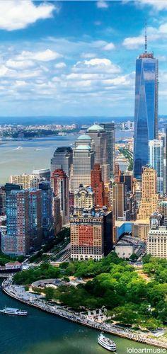 #NewYorkCity | Battery Park