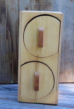 Ldawy Taschentuchbox,wei/ße Taschentuchbox mit Holzabdeckung f/ür Heim Rechteckig B/üro Auto Automobildekoration