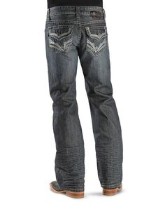 Rock & Roll Cowboy Jeans - Pistol Slim Fit Boot Cut