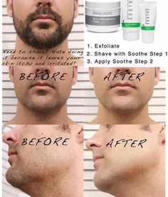 Gentlemen ~ Shaving does not have to be an ordeal anymore ~ This combo provides a great shave and prevents razor bumps and itchy irritated skin! You have to try it to believe it! 60 day money back guarantee!