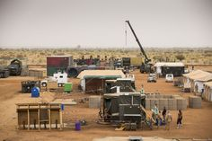 Malkit Shoshan on How the City is a Shared Ground for the Instruments of War and Peace,Initial set-up, Camp Castor, Gao (Mali). Image © The Dutch Ministry of Defense